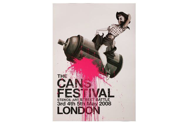 Banksy, 'The Cans Festival London Poster', 2008, Chiswick Auctions