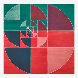 Untitled (Abstraction in Red and Green)