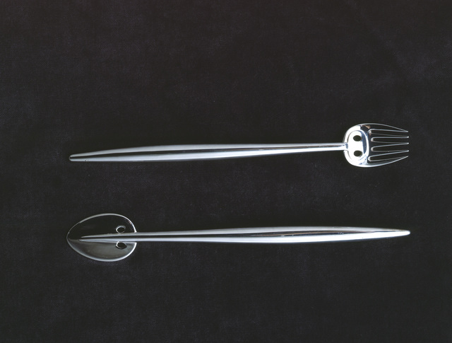 , 'ish knife and fish fork for Charles Rennie Mackintosh and Margaret Macdonald Mackintosh,' , Triennale Design Museum