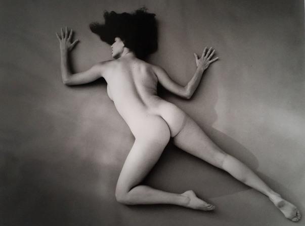 André de Dienes, 'Nu au sol', 1960, Kunzt Gallery