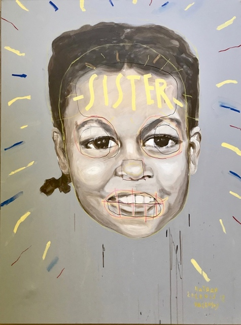 ", '""SISTER"" (Michelle Obama),' 2018, Joseph Gross Gallery"
