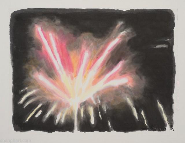 , 'Firework 6 烟火 6,' 2013, ShanghART