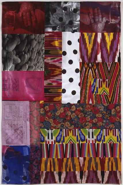 Robert Rauschenberg, 'Samarkand Stitches IV', 1988, Gemini G.E.L.