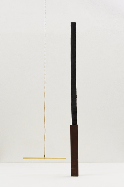 , 'Arranjo cego - Trapézio e mastro | Blind Arrangement - Trapeze and pole,' 2018, Mendes Wood DM