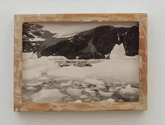 Will Rogan, 'Reclining Nude', 2018, Photography, Gelatin silver print, wood, paint, Altman Siegel