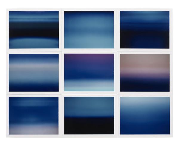 , 'Horizon, étude couleur #2,' 2015, Galerie Thierry Bigaignon