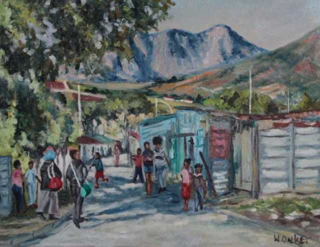 William Onker, 'The other Stellenbosch', 2019, TO LIVE IS TO CHOOSE