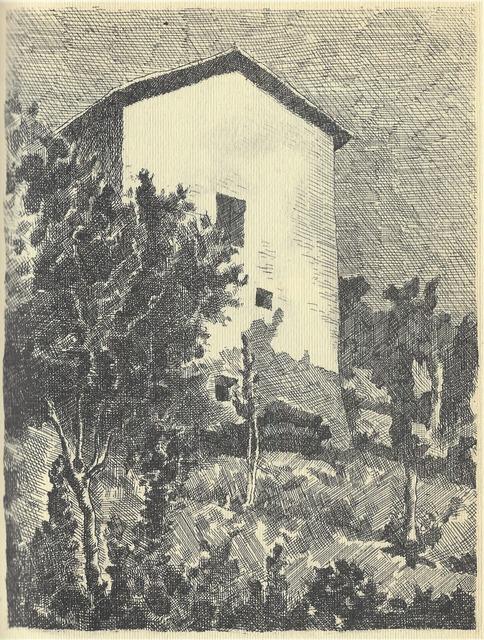 , 'Paesaggio (Casa a Grizzana),' 1927, Galleria d'Arte Maggiore G.A.M.