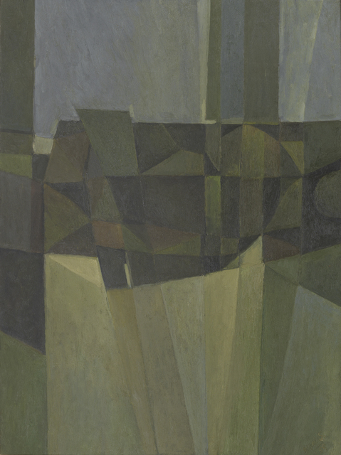 , 'Composition - Brown, Green and Grey,' 1959, Annely Juda Fine Art