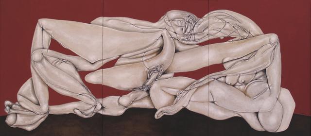 , 'Triptico Sevillano,' 2018, Matthew Liu Fine Arts