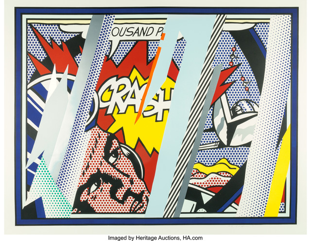 Roy Lichtenstein, 'Reflections on Crash, from Reflection Series', 1990, Heritage Auctions