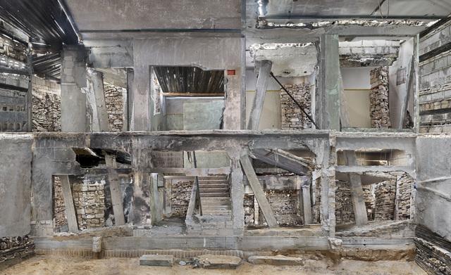 , 'Destroyed House Gaza 3,' 2017, Bruce Silverstein Gallery