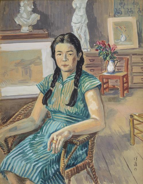 , 'Miss Lee,' 1950, Liang Gallery