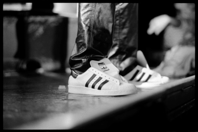 , 'Run-DMC (Close Up Of Adidas Superstar Sneakers),' 1986, Getty Images Gallery