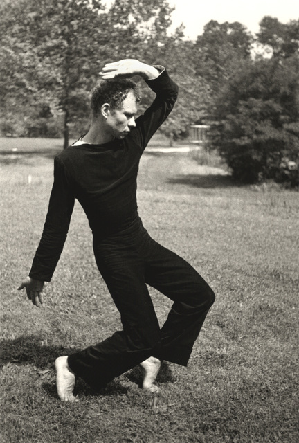 , 'Merce Cunningham Dancing,' ca. 1952, Hammer Museum