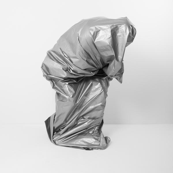 , 'Silver Tarp Self Portrait - Version 1,' 2018, Bau-Xi Gallery