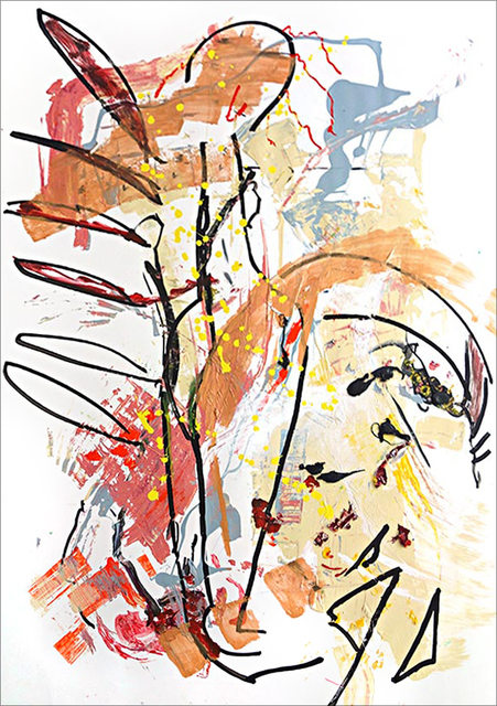 , 'Angel Rising,' 2017, Tufenkian Fine Arts