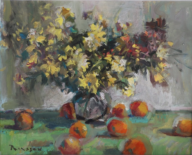 , 'Flowers And Fruits,' 2018, Snow Pearl Art Gallery