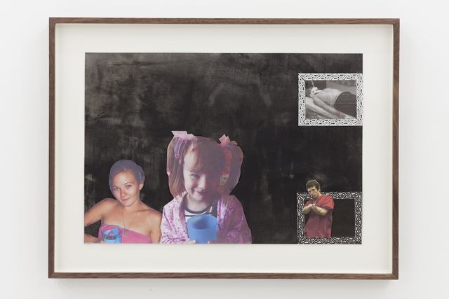 , 'Save A Child, Kill A Pedophile ft. Joseph Druce, Karlie Jade Pearce-Stevenson, Alexa-Marie Quinn, and John Geoghan (Collage),' 2016, Simon Lee Gallery