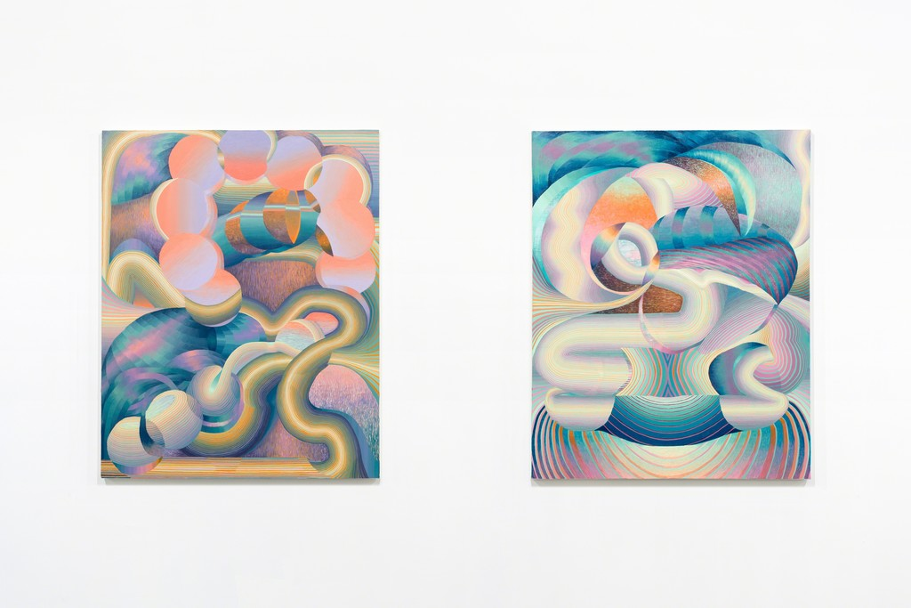 New work by Theresa Daddezio in DEMAND CURVE at PROTO Gallery.