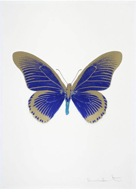 , 'The Souls IV - Westminster Blue - Cool Gold - Topaz,' 2010, Samuel Owen Gallery