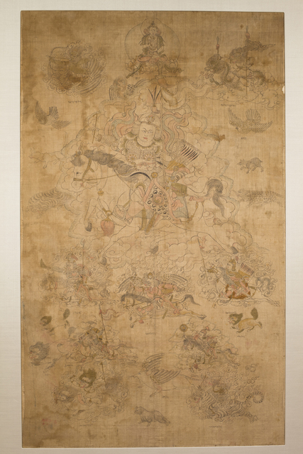, 'Dralha Yesi Gyalpo,' 19th century, Rubin Museum of Art