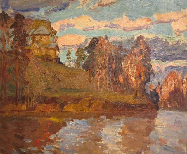 Leonid Ivanovich Rudnev, 'Windy day', 1990, Surikov Foundation