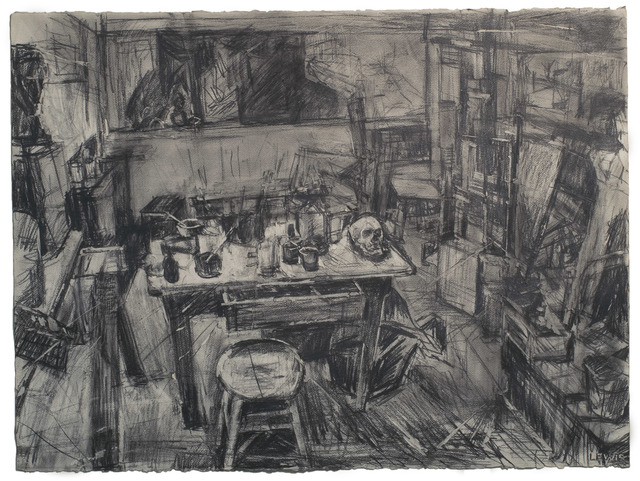 , 'Drawing of Studio, Kansas City,' , Betty Cuningham