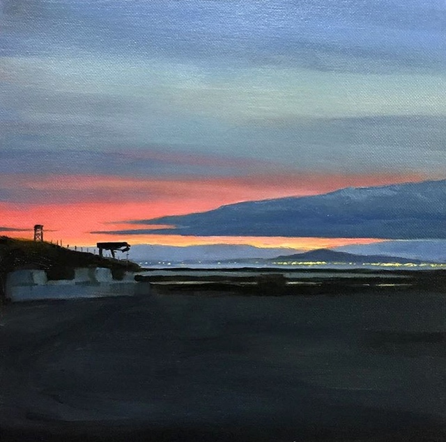 , 'Sunset Over Marshlands,' 2018, George Billis Gallery