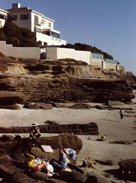 Slim Aarons, 'Beach Picnic', 1960, Photography, C print, IFAC Arts