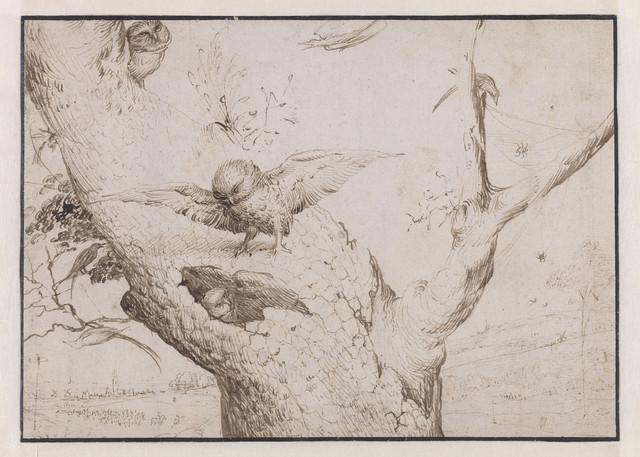 , 'The Owl's Nest,' 1505-1515, Museo Nacional del Prado