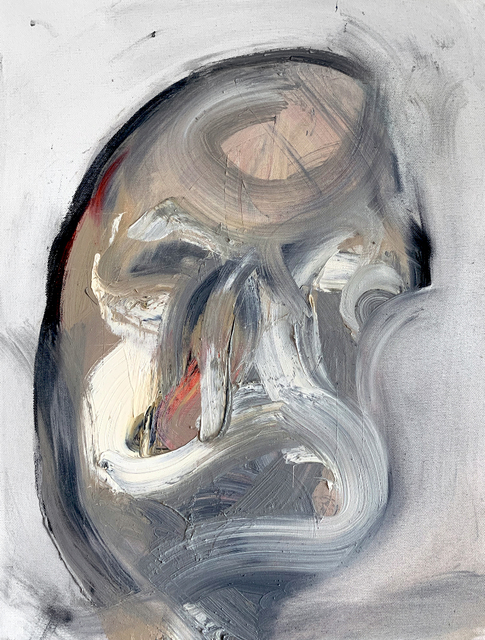 Mani Vertigo, 'No Name', 2017, Painting, Oil on canvas, Galleri Duerr