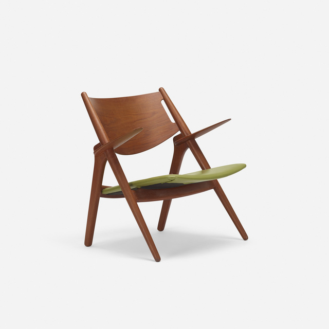 Hans Jørgensen Wegner, 'Sawbuck chair', 1951, Wright
