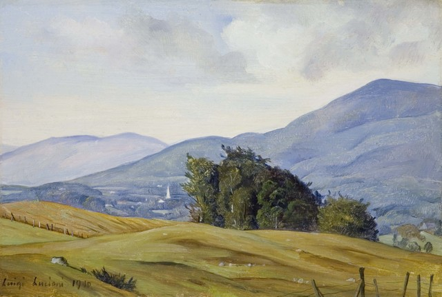 Luigi Lucioni, 'View of the Valley', 1940, Gerald Peters Gallery