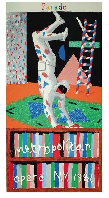 David Hockney, 'Parade, Metropolitan Opera, New York, 1981 David Hockney', 1981, Mr & Mrs Clark's
