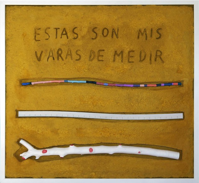 Manuel Barbero, 'Las varas de medir ', 2017, Blanca Soto Arte