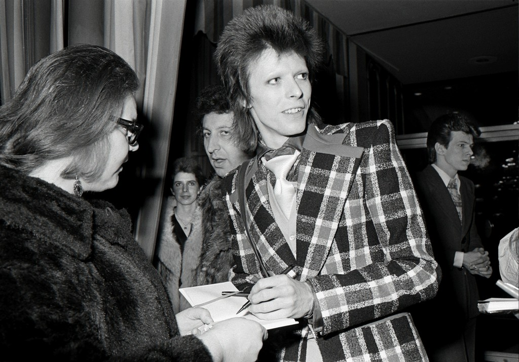 """Michael Jang, 'David Bowie, Beverly Hilton Hotel, from """"The Banquet Crrasher"""",' 1973, Wirtz Art"""