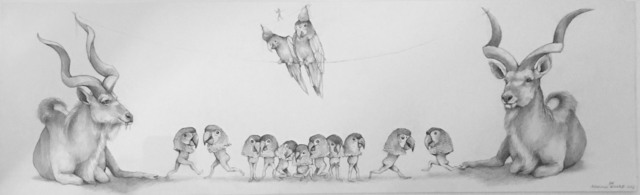 , 'Parrots ,' , Visions West Contemporary