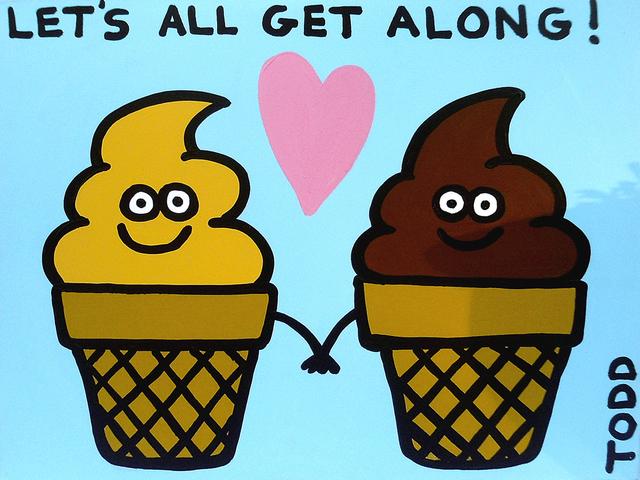 , 'Ice Cream Get Along,' , The Ross Art Group Inc.