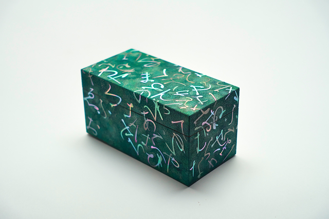 , 'Mother of pearl inlay letter pattern small box,' 2015, Ippodo Gallery