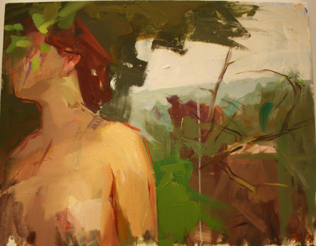 , 'Woman in a Landscape,' 2013, Julie M. Gallery