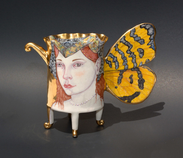 , 'Amphillia, Butterfly Cup,' 2018, Duane Reed Gallery