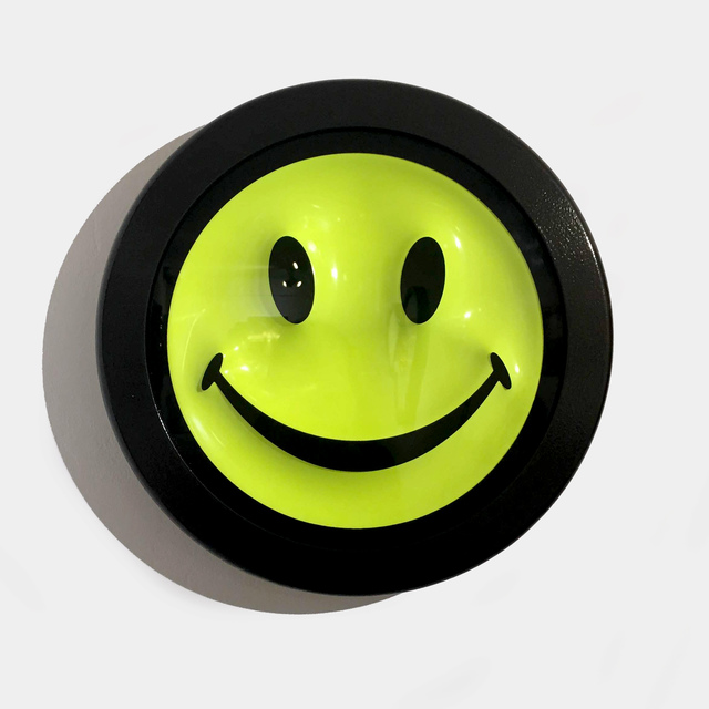 , 'Acid Fluoro Smiley  ,' 2016, Lawrence Alkin Gallery