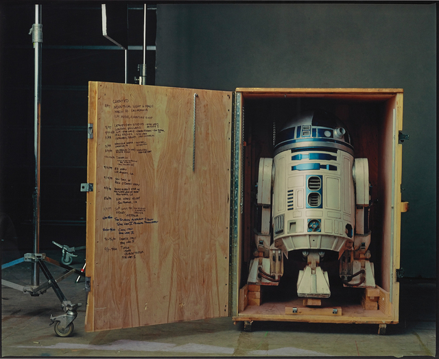 """Annie Leibovitz, 'R2-D2 on the set of """"Star Wars: Episode II, Attack of the Clones"""", Pinewood Studios, London', 2002, Phillips"""