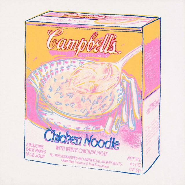 Andy Warhol, 'Campbell's Soup Box: Chicken Noodle ', 1986, Galerie Von Vertes