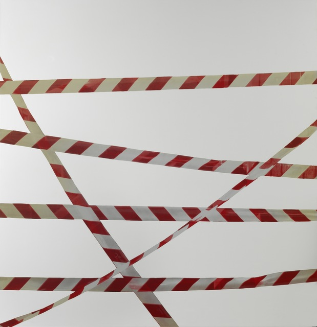 , 'Lavoro - nastri segnaletici,' 2008-2011, Simon Lee Gallery