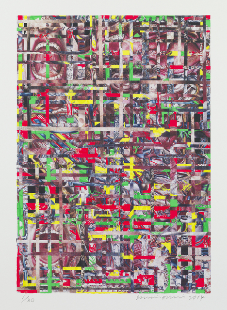 Shinro Ohtake, 'Time Memory / Body 1', 2014, Parasol unit foundation for contemporary art