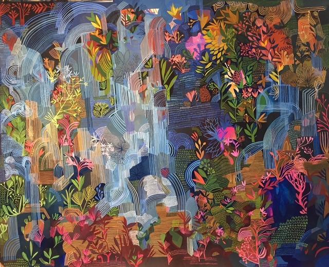 , 'Waterfall Cascade,' 2018, Rebecca Hossack Art Gallery