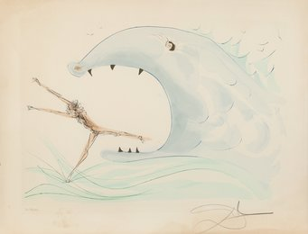 Jonah and the whale, from Our Historical Heritage