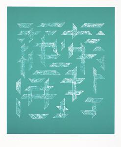 , 'Double Impression III,' 1978, Alan Cristea Gallery